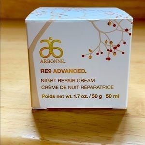 BNIB Arbonne RE9 Advanced Night Repair Cream